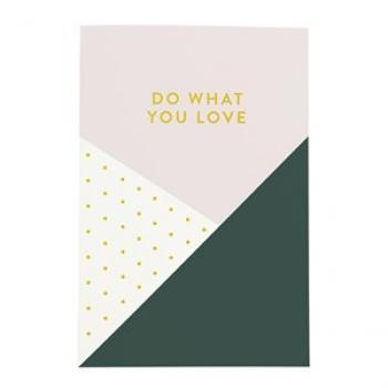 Notizbuch Do what you love
