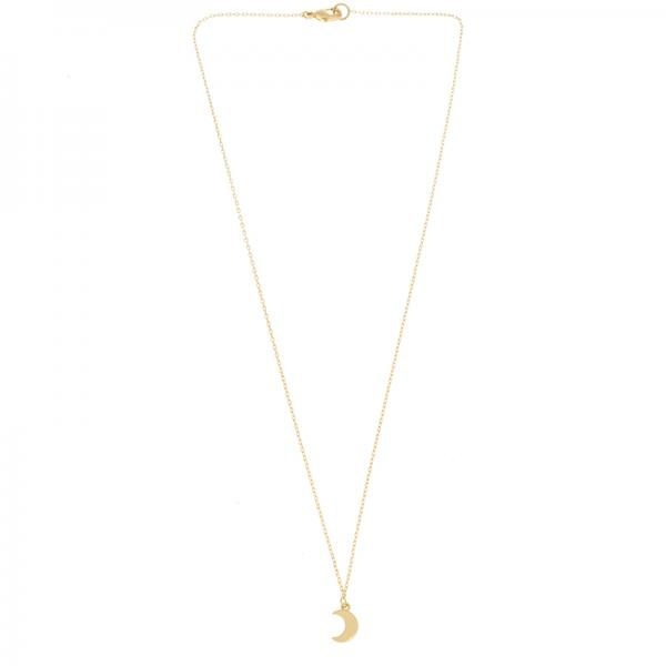 Kette Small moon gold
